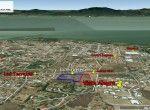 3. La Ciruelera Google Location facing lake