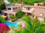 MLS 1 House set in lush garden